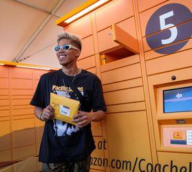 Amazon Prime Coachella Lockers