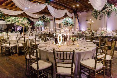 Romantic Brazos Hall Wedding