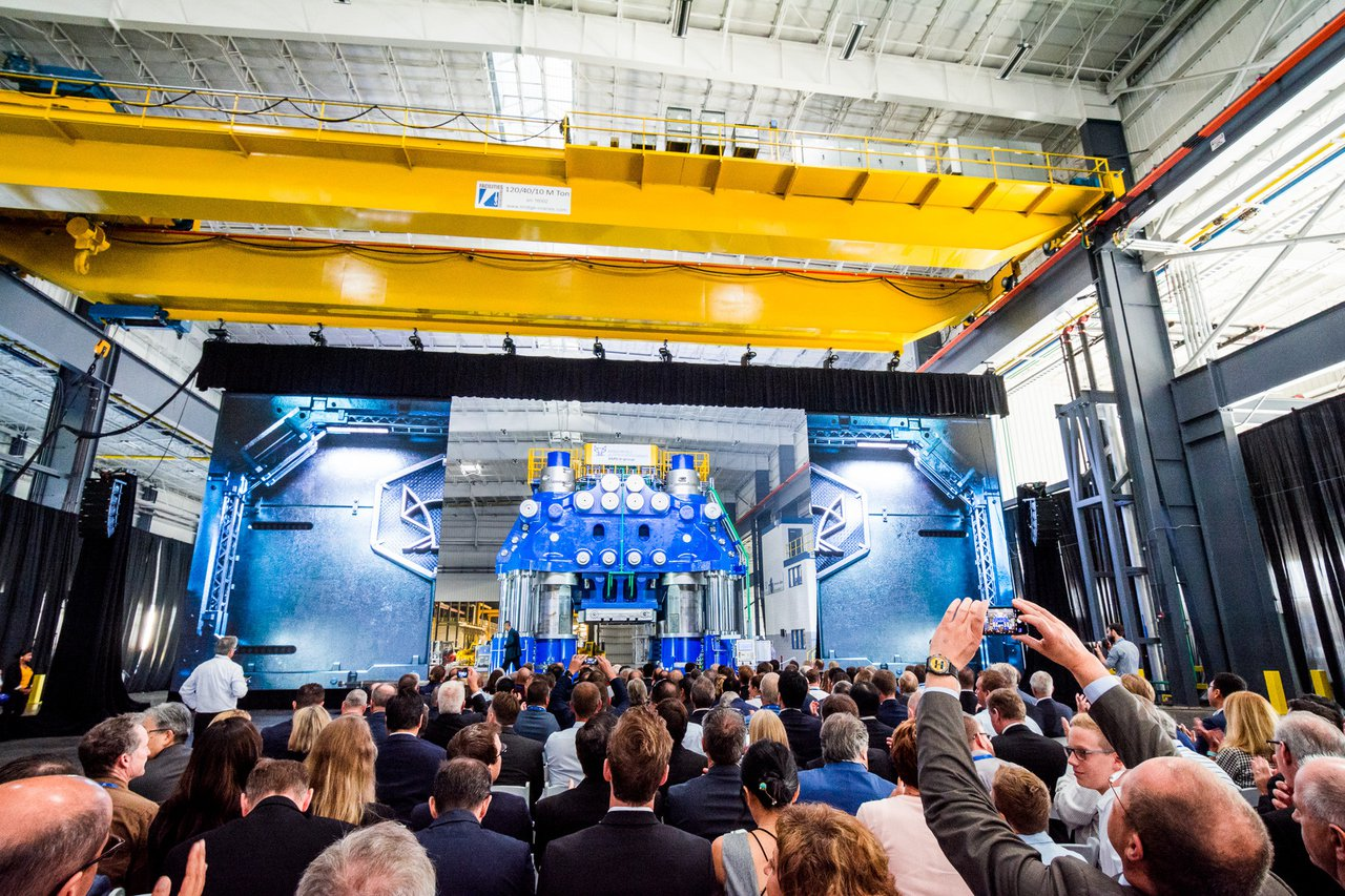 Weber Metals Grand Press Unveiling photo Wow Factor at Weber Metals Grand Reveal Event.jpg