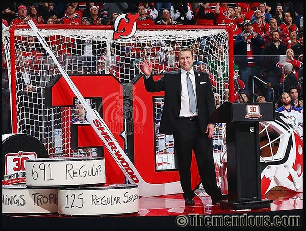 NJ Devils- Martin Brodeur's Retirement cover photo