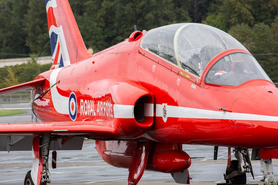 UK Government Red Arrows Reception