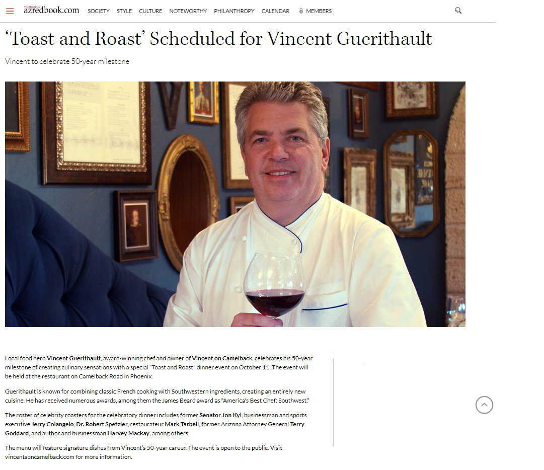 "Vincent Guerithault ""Toast and Roast""  photo The Arizona Red Book feature.jpg"