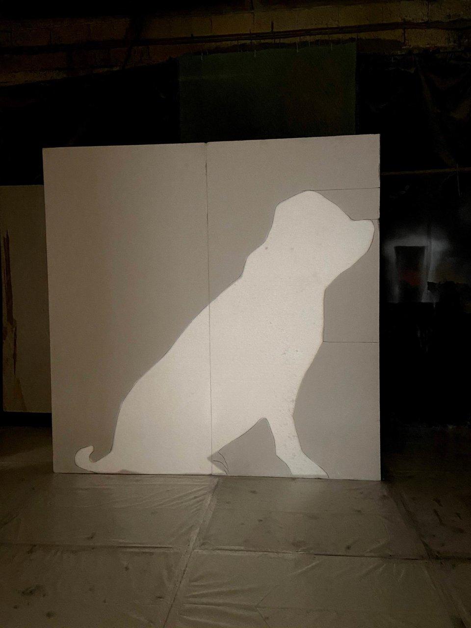Fomo - 8 ft. Topiary Dog Sculpt photo 9945CD3C-EF34-423F-9737-4EADB6706A67.jpg