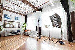THAT Toronto Studio - Event Venue Rental photo Direct-sunlight-shooting-area-and-photogrpahy-strobes-THAT-Toronto-Studio.jpg