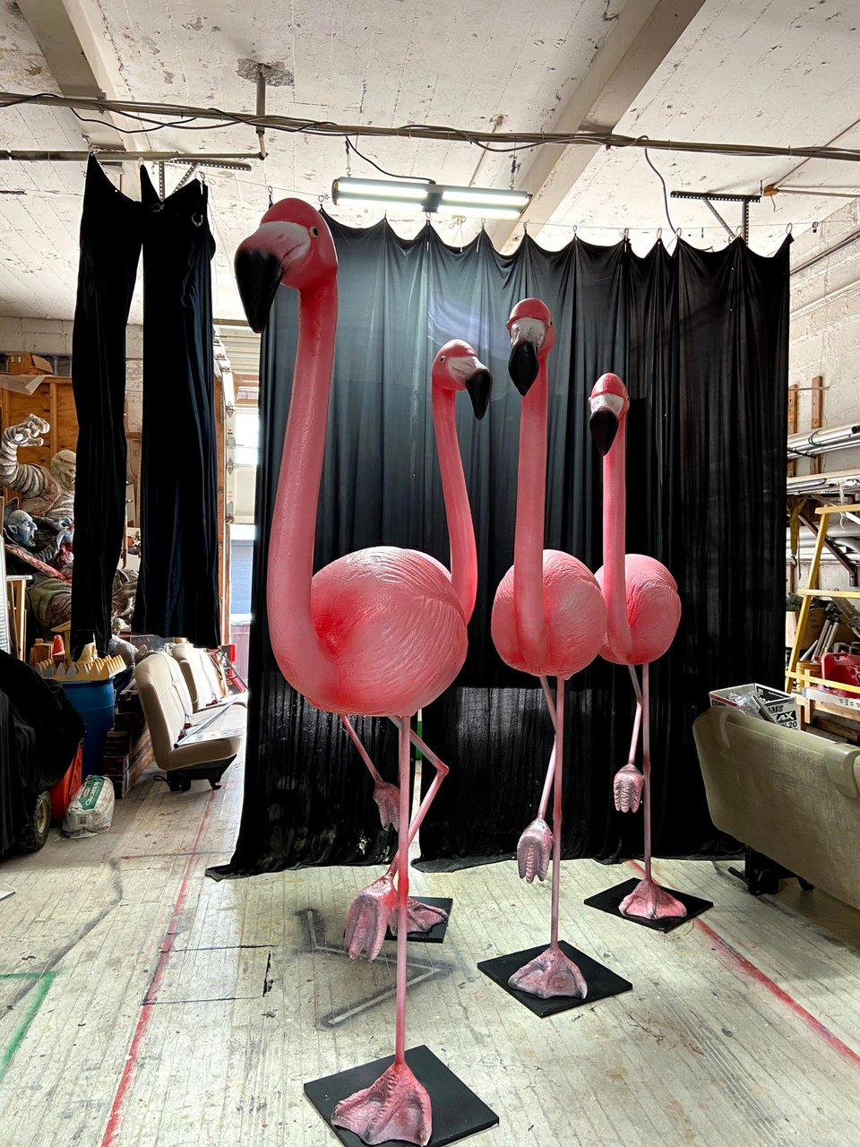 Oversized Flamingo Sculpts  photo IMG_9547.jpg