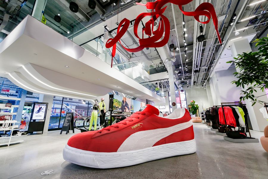 Puma Launches First U.S. Flagship Store