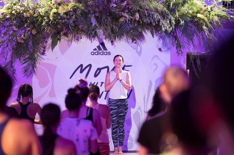 Adidas International Yoga Day cover photo