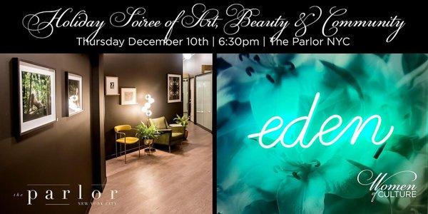 Holiday Soiree of Art, Beauty, Community cover photo