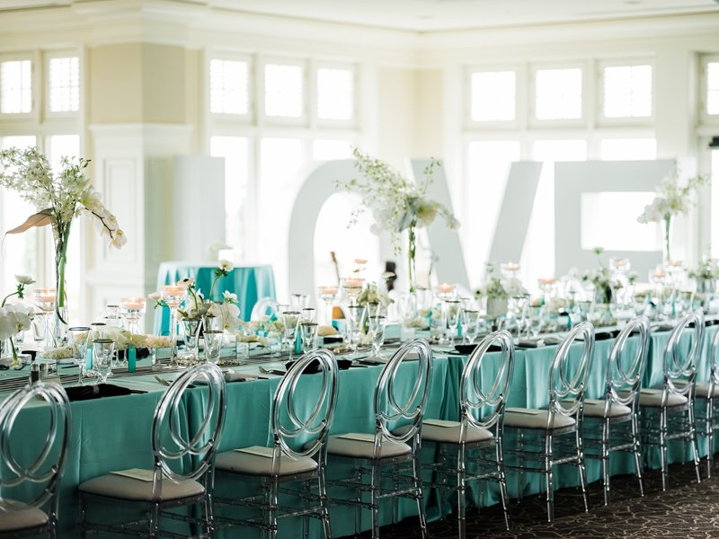Breakfast at Tiffany's Theme Luncheon