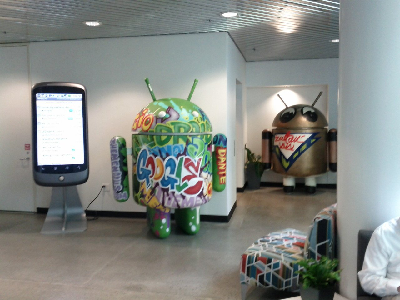 Google Headquarters -Various Androids photo IMG_20120423_154701.jpg