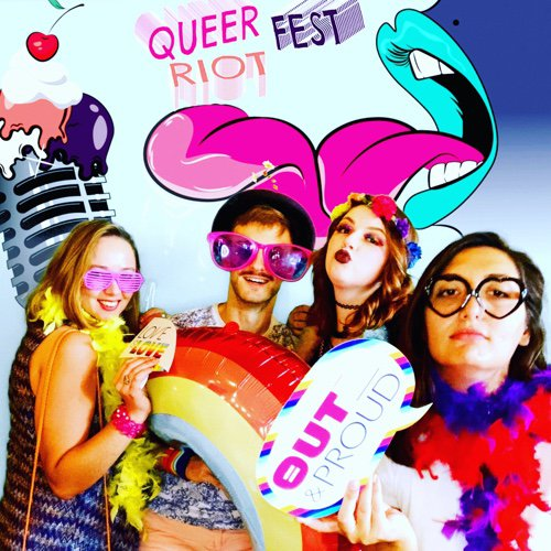 Queer Riot Fest cover photo