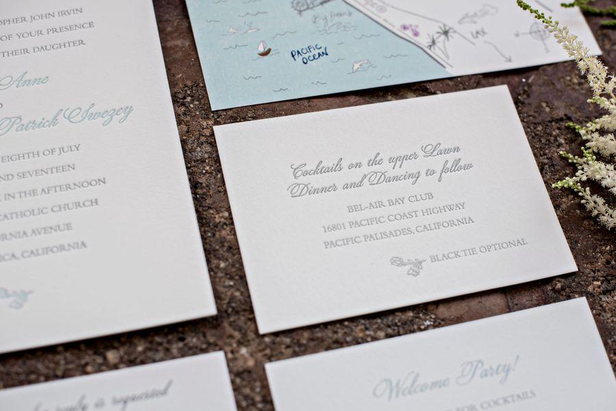 Bel-Air Bay Club Summer Wedding