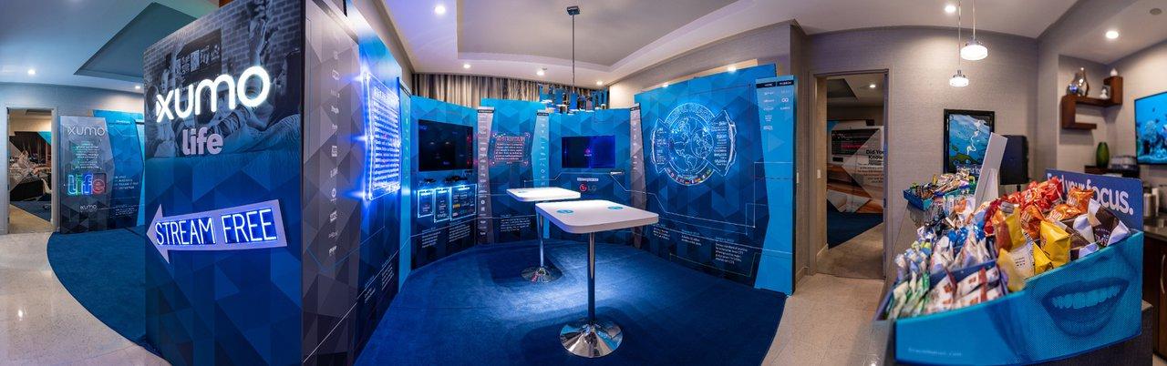 XUMO TV @ CES photo CES_Panorama_LowerRes.jpg