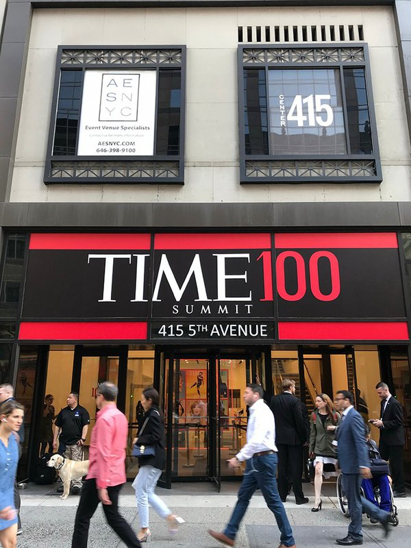 Inaugural TIME 100 Summit cover photo