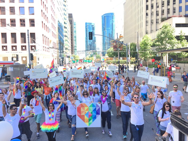 SF Pride Parade - Twitter cover photo