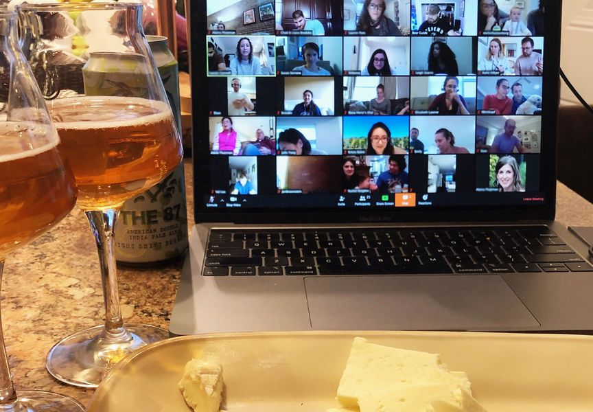Virtual Beer & Cheese Tasting service