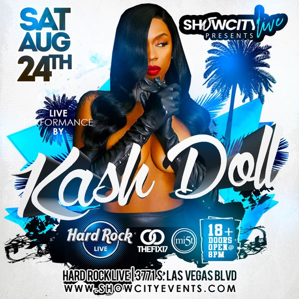 Kash Doll Live  cover photo