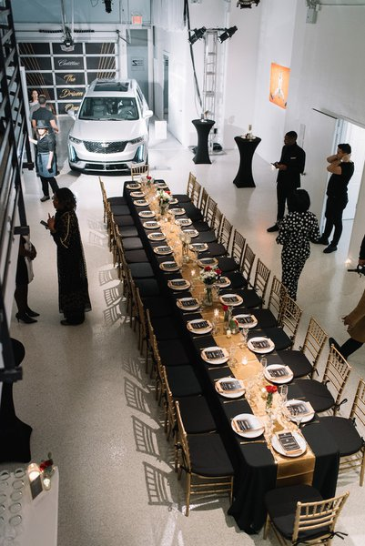 "Cadillac's ""The Driven Ones"" Dinner cover photo"