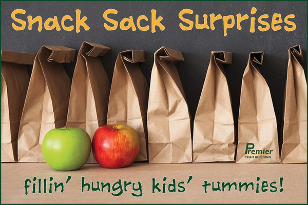 Snack Sack Surprises cover photo
