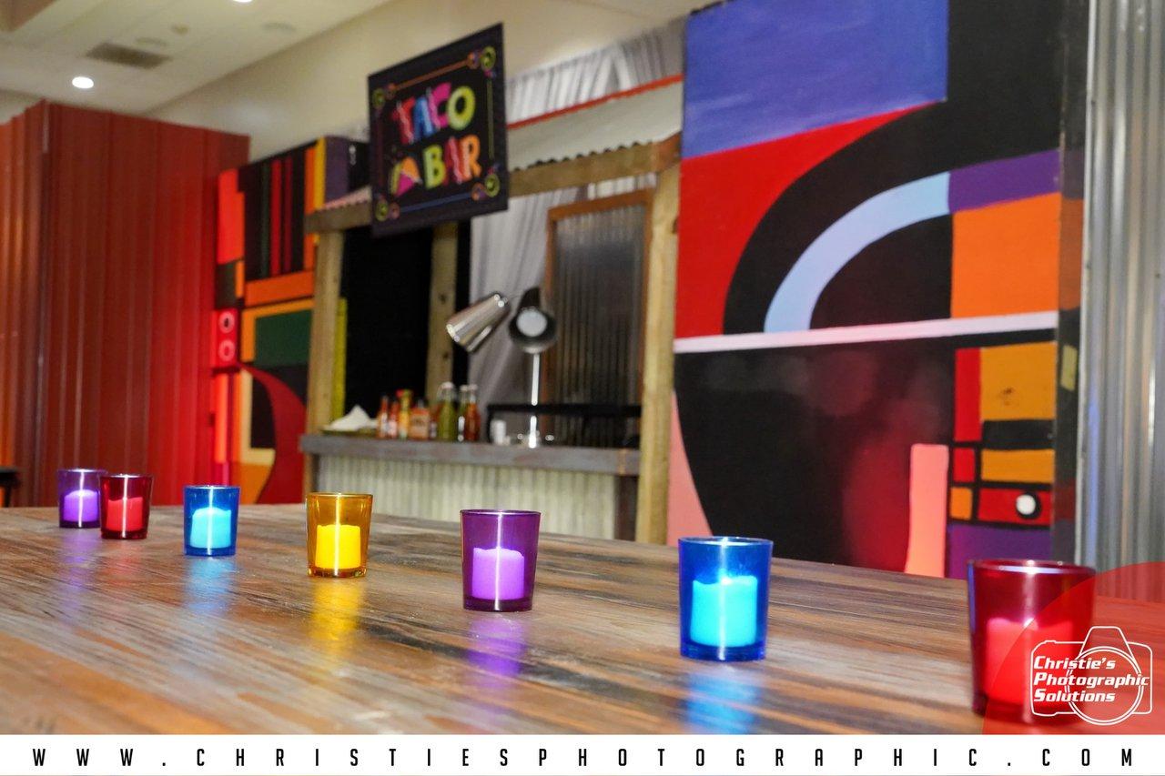 MPI Sunshine Education Summit (MPI SES) photo Colorful Votives and Taco Bar.jpg