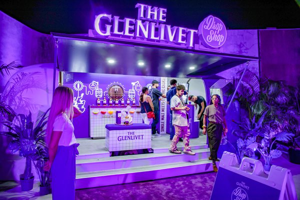 Glenlivet Drop Shop Airstream