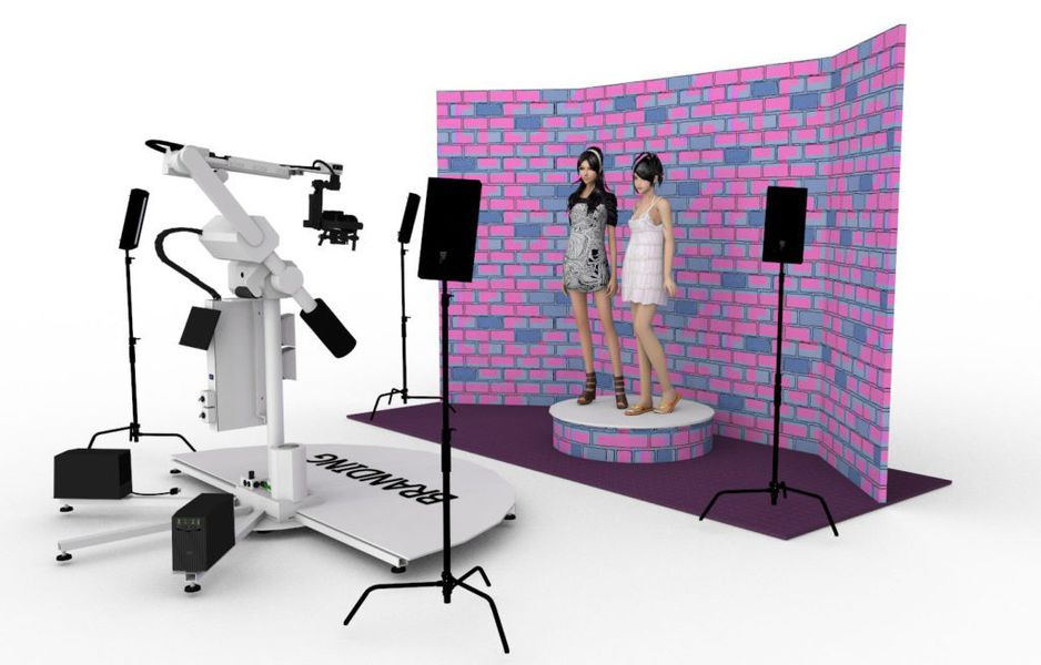 Gimbal Video Booth service