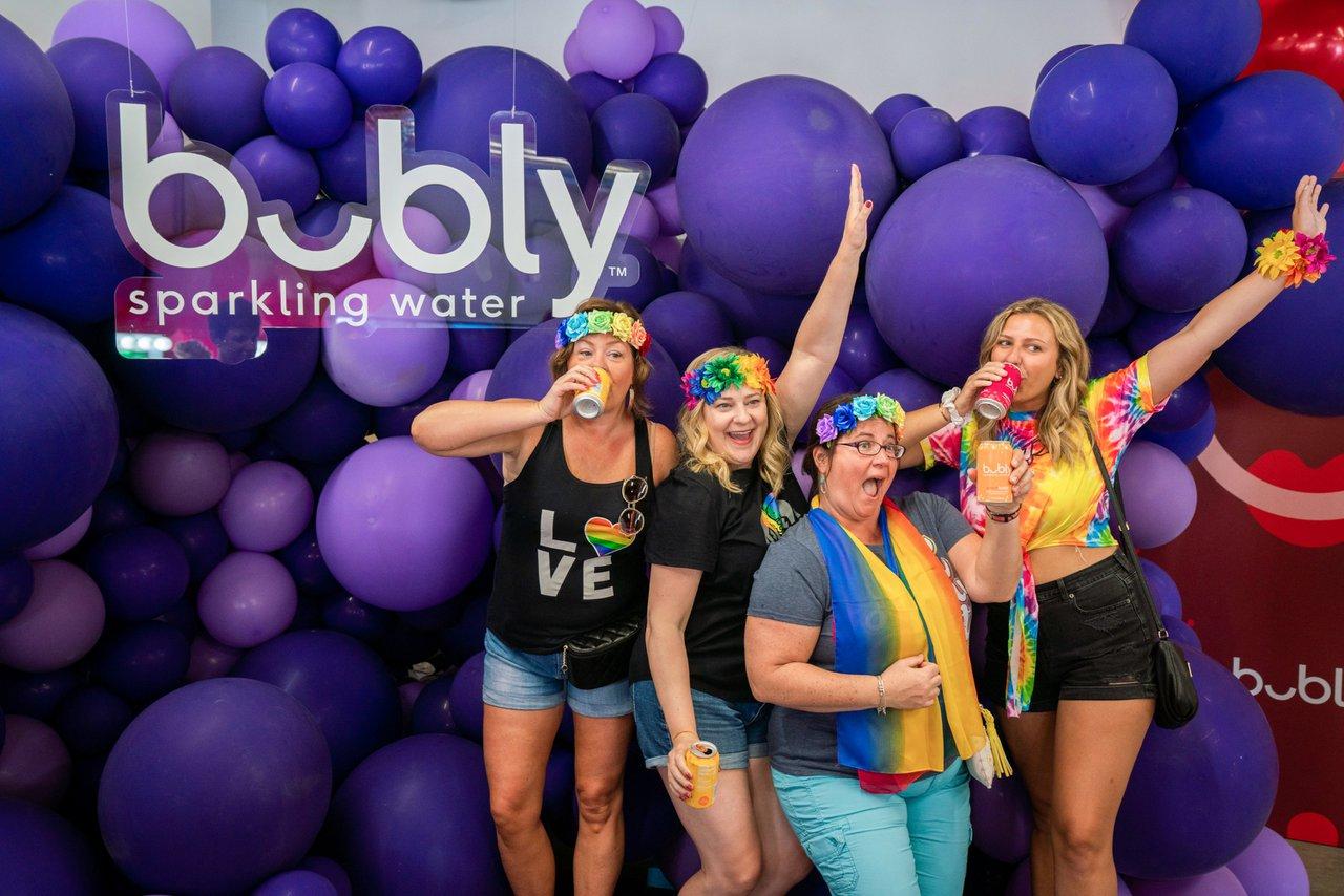 Bubly Sparkling Water at LA Pride photo OHelloMedia-BublySparklingWater-LAPrideParade-09463.jpg