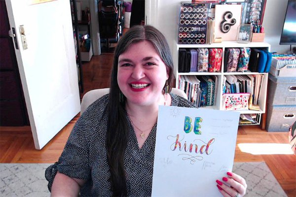 Virtual Hand Lettering Workshop