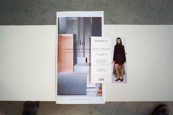 TIBI X HEERY'S | Designer Show + Pop-Up cover photo