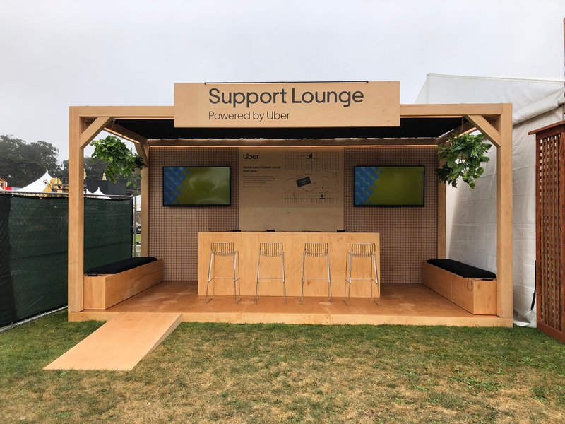 Uber Rider Support Hub at Outside Lands cover photo