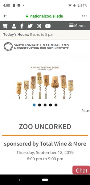 Zoo Uncorked cover photo