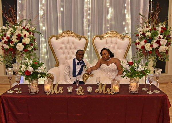 Dabione & Tyson's Wedding cover photo