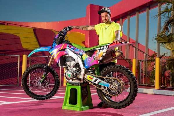 Red Bull Motocross @ Art Week Miami 2019