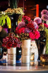Seahawks Superbowl Ring Ceremony photo pink-red-event-flower-arrangments.jpg