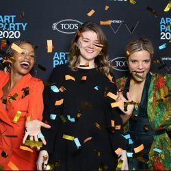 Whitney Art Party