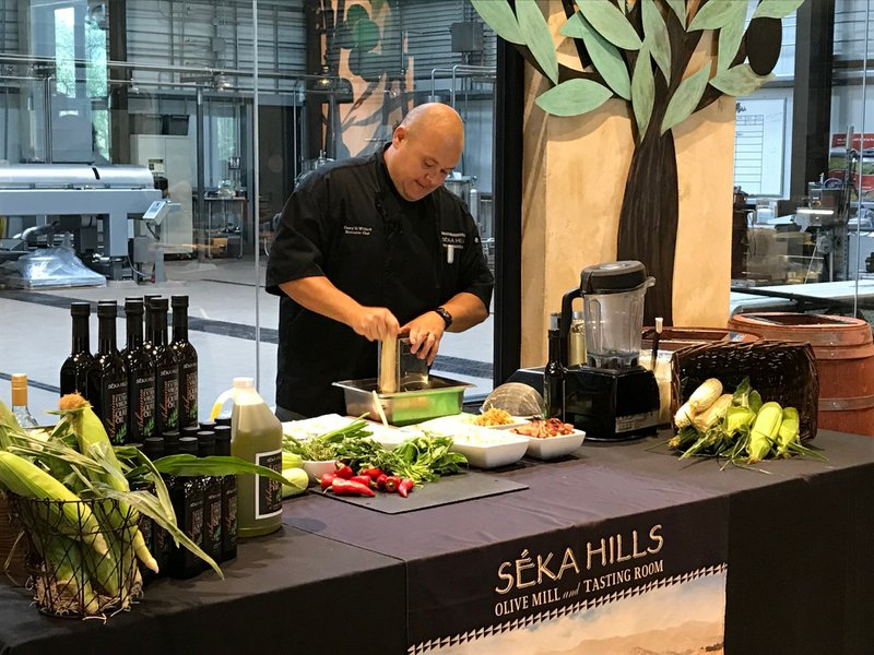 Corporate Cooking Demo