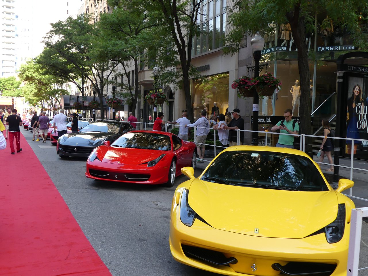 Ferraris On Oak Street photo Yellow car-P1010042.jpg