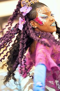 Pride Celebration at Westfield Center photo BflyPurpSpin.jpg