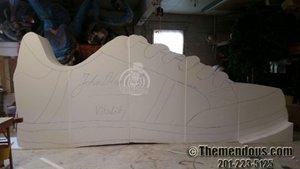 Foam Sculptures photo Sneaker Progress 1.jpg