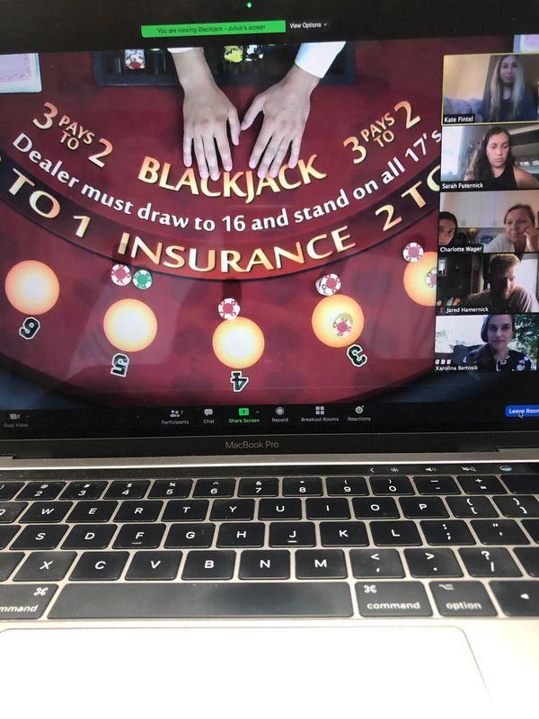 Virtual Casino Night service