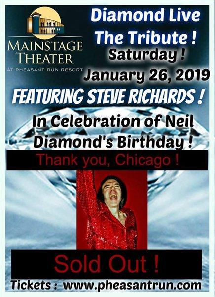Diamond Live The Tribute  cover photo