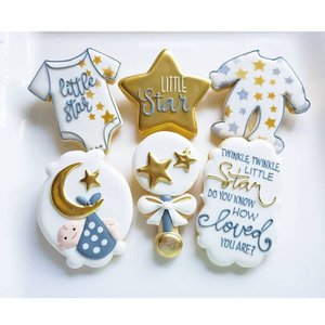 Custom Cookies for your special event! photo jill twinkle hanging baby.jpg