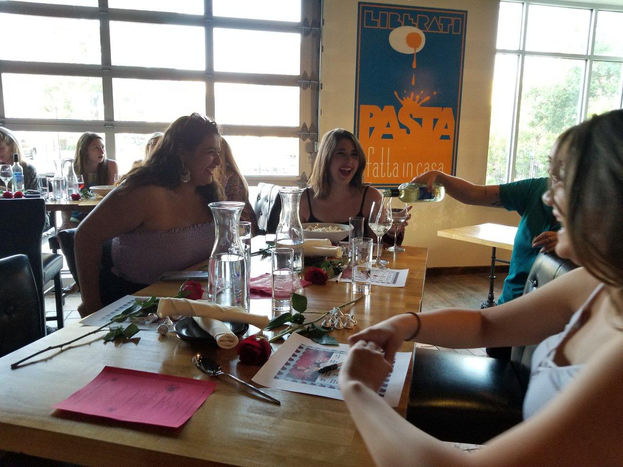 The Bachelorette Finale Watch Party photo Liberati_Girls laughing.jpg