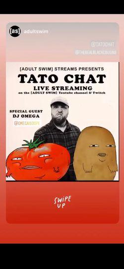 Adult Swim Tato Chat Virtual Festival