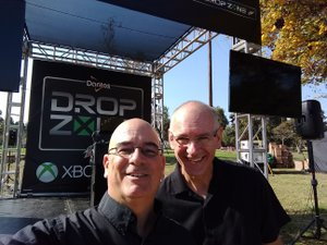 Doritos & Doo Drop Zone Event for X-Box photo Doritos and Do Event with X-Box Mark Peace Thomas - Mike K Brown.jpg