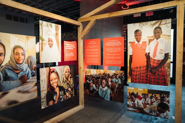 AMREF Health Africa ArtBall cover photo