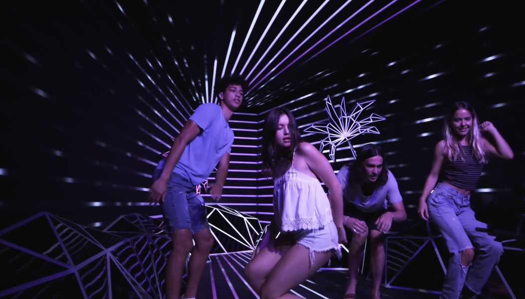 Robot Dance Cam: AMEX Coachella