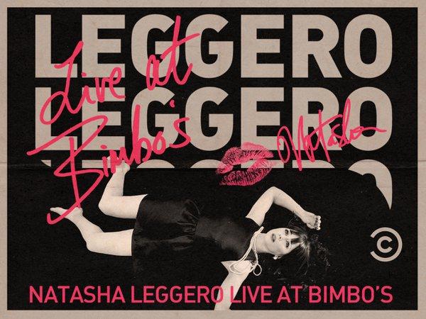 """Natasha Leggero-Live At Bimbos"" cover photo"