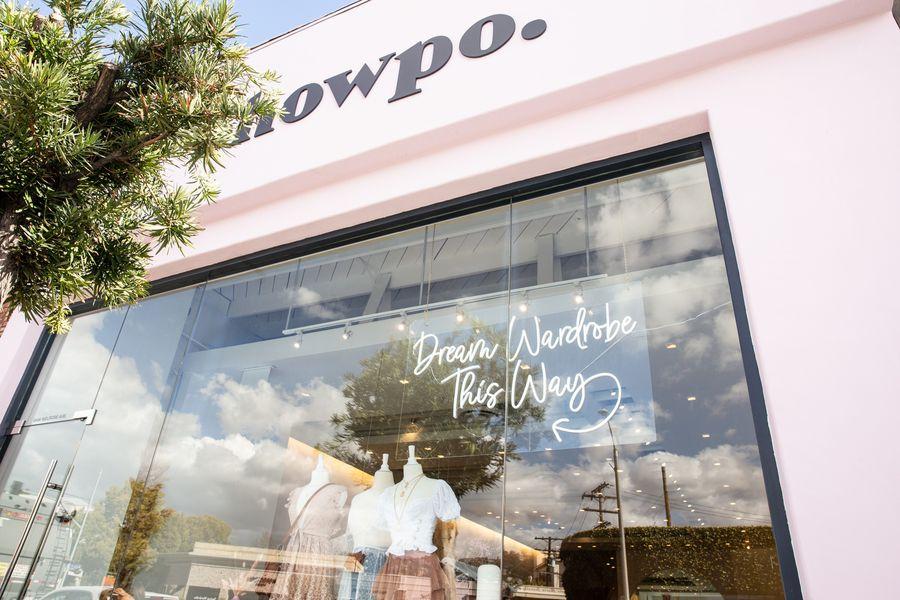 Showpo Pop Up Shop
