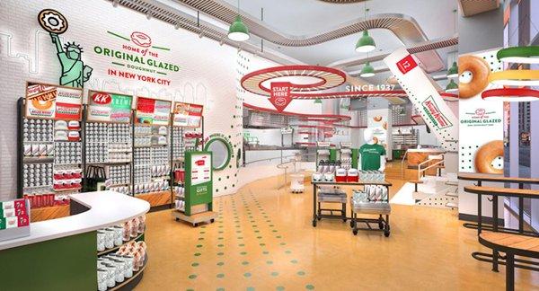 Krispy Kreme Times Square: Sweet Peek